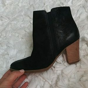 Franco Sarto black/brown booties